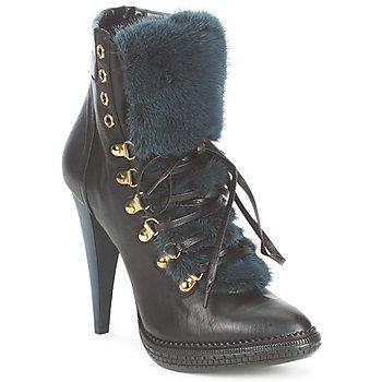Pantofi Femei Botine Roberto Cavalli QPS583-PZ260 Maro