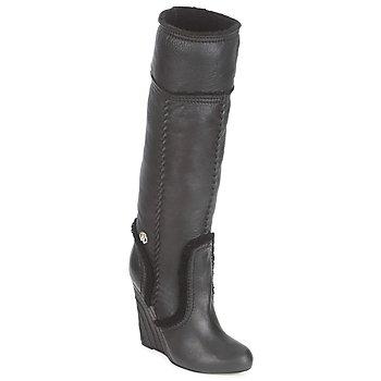 Pantofi Femei Cizme casual Roberto Cavalli QDS598-PJ007 Negru