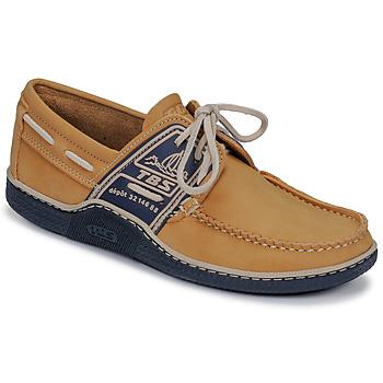 Pantofi Bărbați Pantofi barcă TBS GLOBEK Galben / Bleumarin
