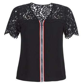 Îmbracaminte Femei Topuri și Bluze Morgan OSALI Negru