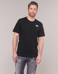 Îmbracaminte Bărbați Tricouri mânecă scurtă The North Face MEN'S S/S REDBOX TEE Negru
