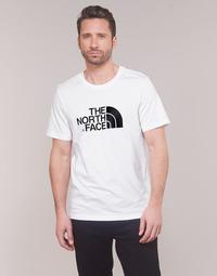 Îmbracaminte Bărbați Tricouri mânecă scurtă The North Face MEN'S S/S EASY TEE Alb