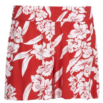 Îmbracaminte Femei Pantaloni scurti și Bermuda Volcom ALOHA HA SHORT Roșu