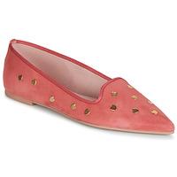 Pantofi Femei Balerin și Balerini cu curea Pretty Ballerinas MAHA Roz