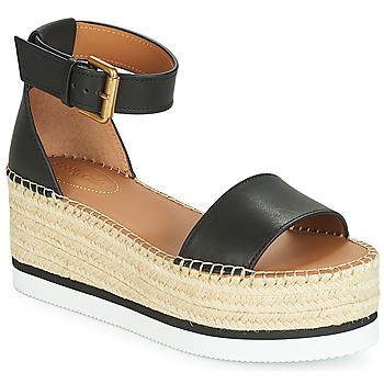 Pantofi Femei Espadrile See by Chloé SB32201A Negru