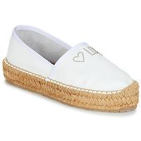 Pantofi Femei Espadrile Love Moschino JA10163G07 Alb