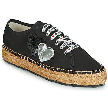 Pantofi Femei Espadrile Love Moschino JA10263G07 Negru