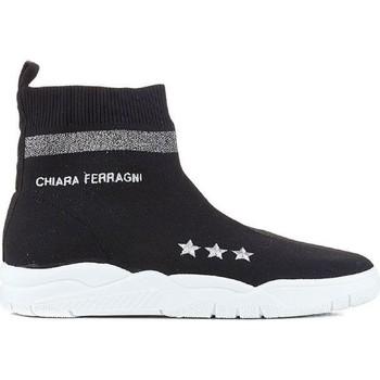 Pantofi Femei Pantofi sport stil gheata Chiara Ferragni CF1948 BLACK nero