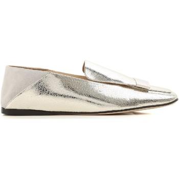 Pantofi Femei Mocasini Sergio Rossi A77990 MFN305 8198 argento