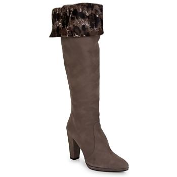 Pantofi Femei Cizme casual Stuart Weitzman ZOOKEEPER Stone