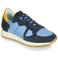 Pantofi Femei Pantofi sport Casual Philippe Model MONACO VINTAGE BASIC Albastru / Galben