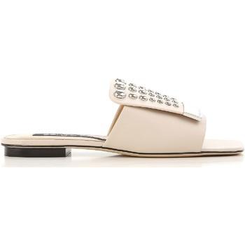 Pantofi Femei Șlapi Sergio Rossi A80380 MFN205 9179 Nudo