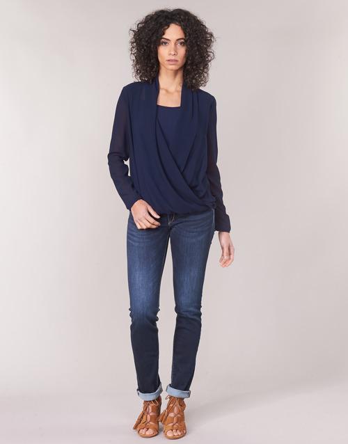 Îmbracaminte Femei Jeans drepti Le Temps des Cerises PULP REGULAR Albastru