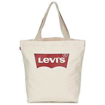 Genti Femei Sacoșe shopping și Genti shopping Levi's Batwing Tote W Ecru