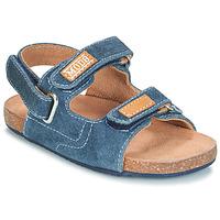 Pantofi Băieți Sandale și Sandale cu talpă  joasă Mod'8 KORTIS Albastru / Jean