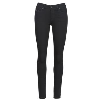 Îmbracaminte Femei Jeans slim Diesel SLANDY Negru / 069ef