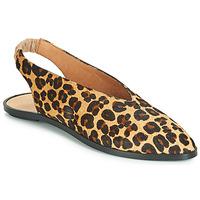 Pantofi Femei Balerin și Balerini cu curea Jonak APIO Leopard