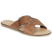 Pantofi Femei Papuci de vară Jonak JASMINE Coniac