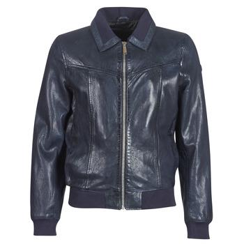Îmbracaminte Bărbați Jachete din piele și material sintetic Redskins RUBBETS Bleumarin