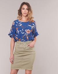Îmbracaminte Femei Topuri și Bluze Cream ALLY Albastru
