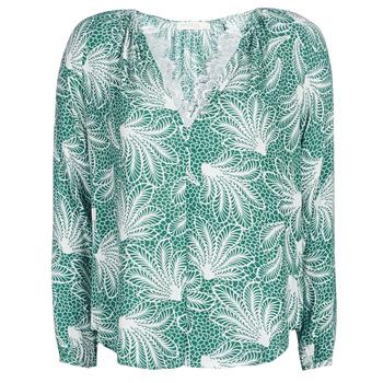 Îmbracaminte Femei Topuri și Bluze See U Soon GARAGAVE Verde / Alb