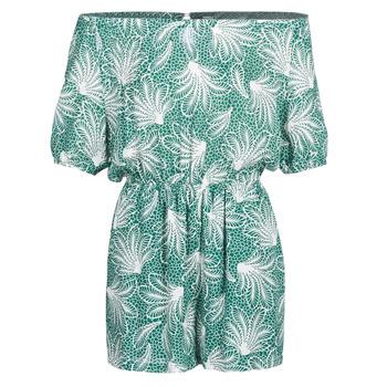 Îmbracaminte Femei Jumpsuit și Salopete See U Soon GARAGABE Verde / Alb