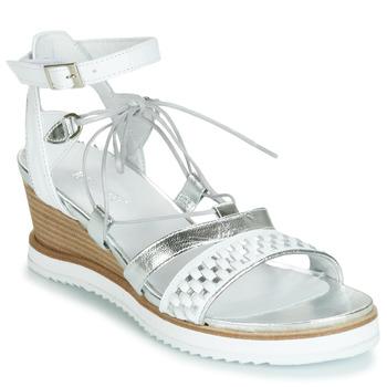 Pantofi Femei Sandale și Sandale cu talpă  joasă Regard RAXAF V1 TRES ALFA BLANC Alb