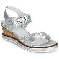 Pantofi Femei Sandale și Sandale cu talpă  joasă Regard RAXALI V3 ECLAT ARGENT Argintiu