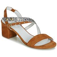 Pantofi Femei Sandale și Sandale cu talpă  joasă Regard REFTA V1 ANTE CAMEL Maro