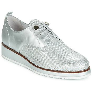 Pantofi Femei Pantofi Derby Regard RIXIZA V2 TRES METALCRIS PLATA Argintiu