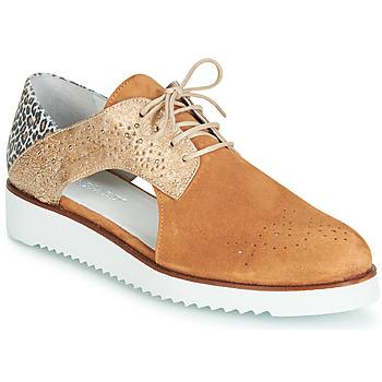 Pantofi Femei Pantofi Derby Regard RIXULO V3 VEL CAMEL Maro