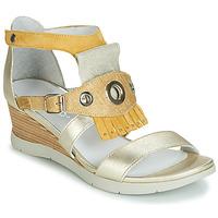 Pantofi Femei Sandale și Sandale cu talpă  joasă Regard RUBIKA V3 VEL JAUNE Galben