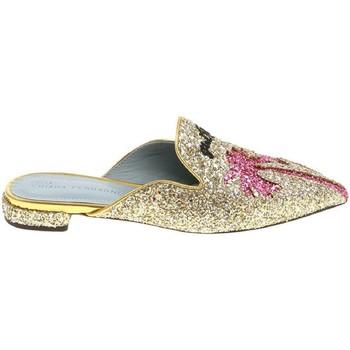 Pantofi Femei Saboti Chiara Ferragni CF1842 GLITTER ORO oro