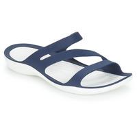 Pantofi Femei Șlapi Crocs SWIFTWATER SANDAL W Bleumarin