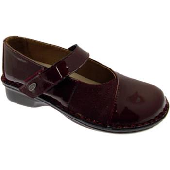 Pantofi Femei Balerin și Balerini cu curea Calzaturificio Loren LOM2690bo tortora