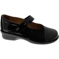 Pantofi Femei Balerin și Balerini cu curea Calzaturificio Loren LOM2690ne nero