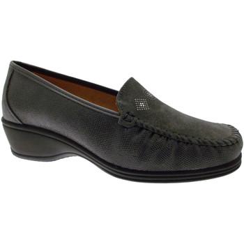 Pantofi Femei Mocasini Calzaturificio Loren LOK3992gr grigio