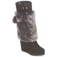 Pantofi Femei Cizme casual Sebastian NIGOK Negru