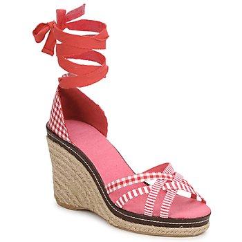 Pantofi Femei Sandale și Sandale cu talpă  joasă StylistClick ANGELA Roșu