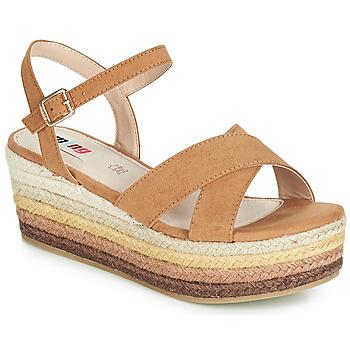Pantofi Femei Sandale și Sandale cu talpă  joasă MTNG SOCOTRA3 Maro