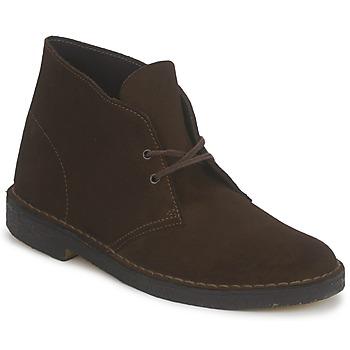 Pantofi Bărbați Ghete Clarks DESERT BOOT Maro