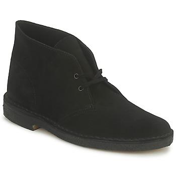 Pantofi Bărbați Ghete Clarks DESERT BOOT Negru