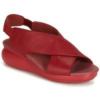 Încăltăminte Femei Sandale și Sandale cu talpă  joasă Camper BALLOON Roșu