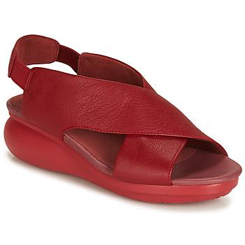 Pantofi Femei Sandale și Sandale cu talpă  joasă Camper BALLOON Roșu