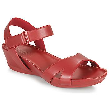 Încăltăminte Femei Sandale și Sandale cu talpă  joasă Camper Micro Roșu