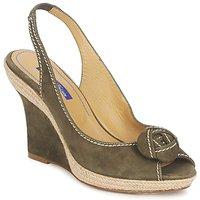 Încăltăminte Femei Sandale și Sandale cu talpă  joasă Atelier Voisin ALIX Kaki
