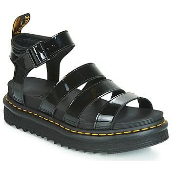 Pantofi Femei Sandale și Sandale cu talpă  joasă Dr Martens Blaire Negru