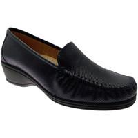 Pantofi Femei Mocasini Calzaturificio Loren LOK3979bl blu