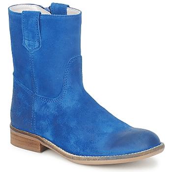 Pantofi Fete Ghete Hip DIRAN Albastru
