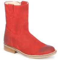 Pantofi Fete Ghete Hip DIRAN Roșu